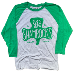 J.P. Shamrocks raglan shirt