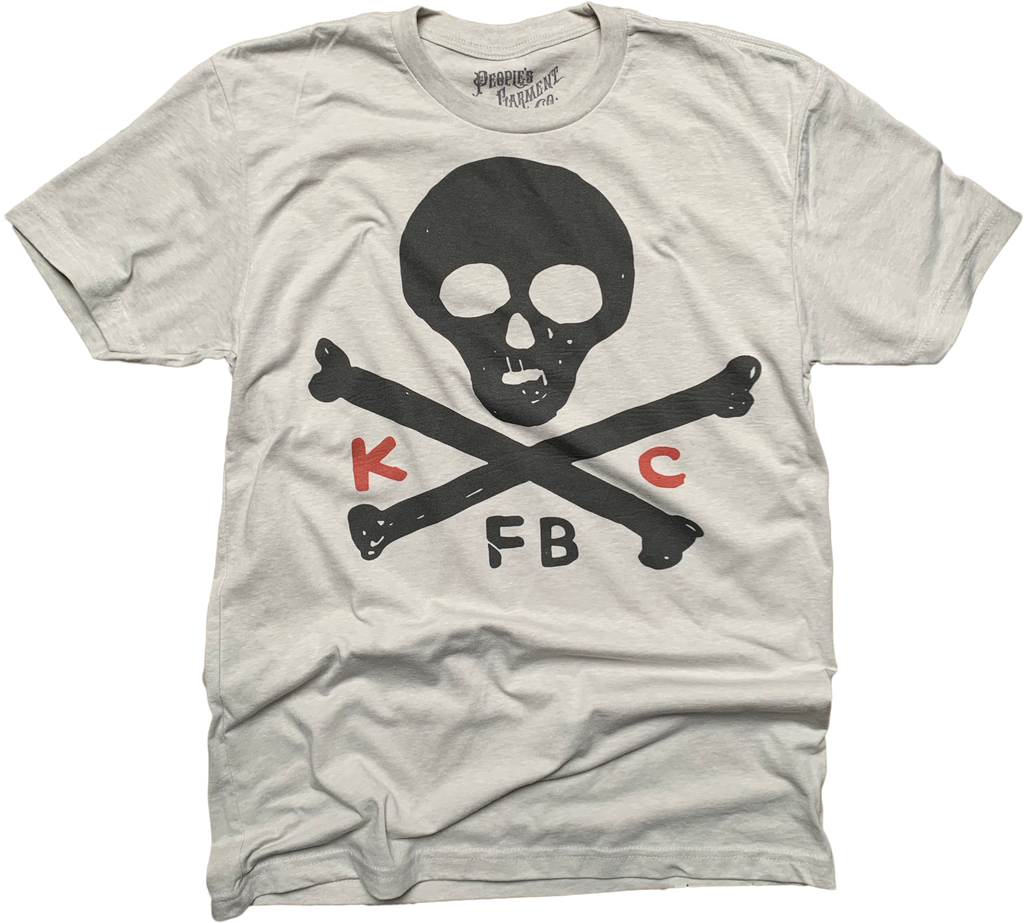 Kansas City Football Skulls tshirt