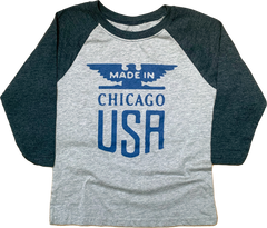 Made In Chicago Youth Raglan