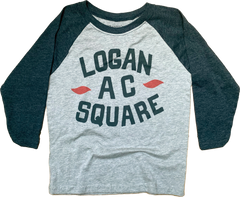 Logan Square Youth Raglan