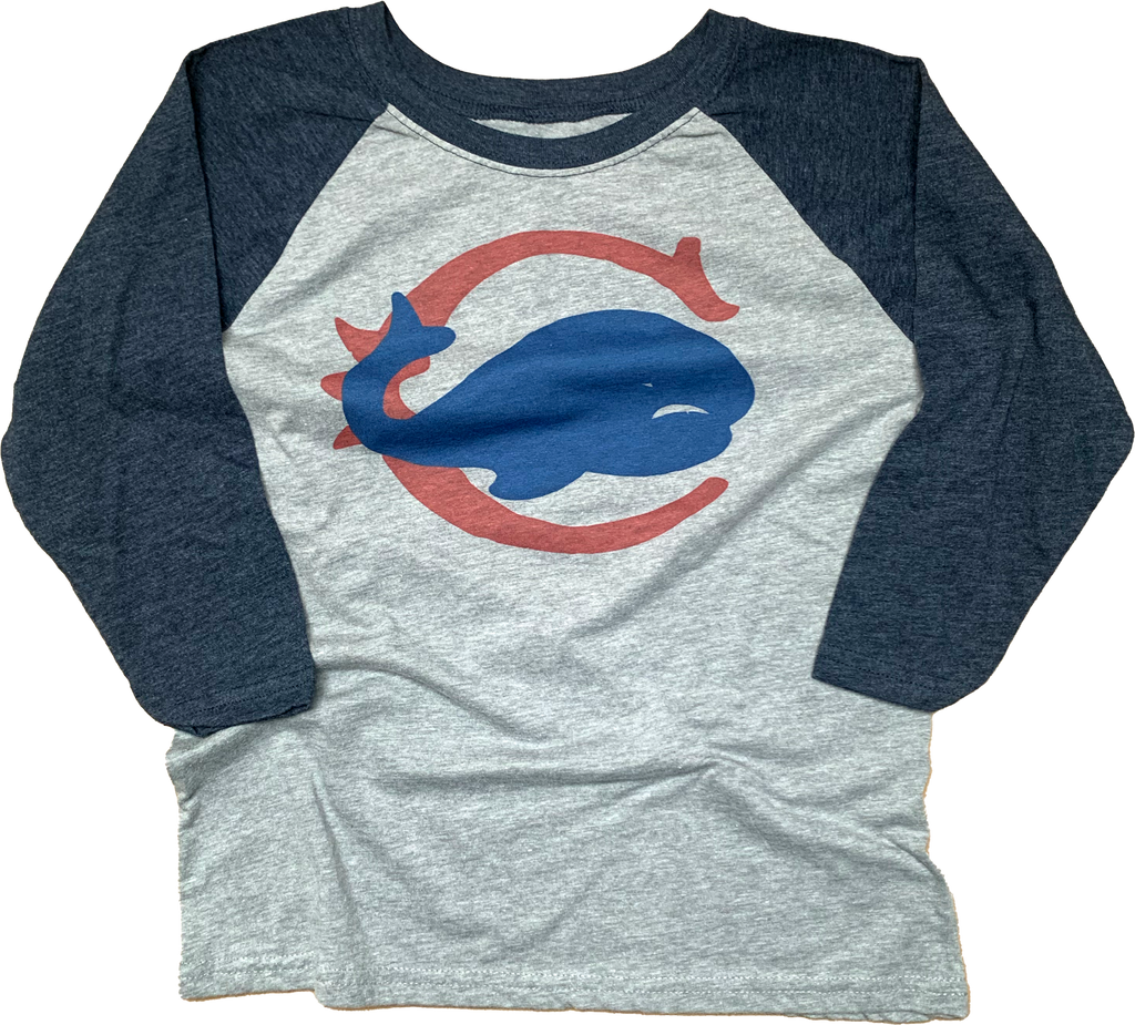 Chicago Whales Baseball Youth Raglan