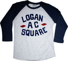 Chicago Logan Square Athletic Club raglan - 1919