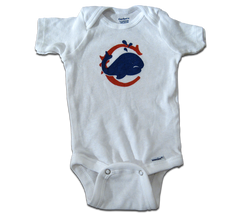 Kids Chicago Whales short sleeve onesie