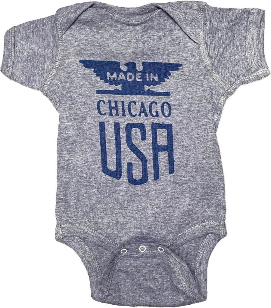 Made In Chicago onesie