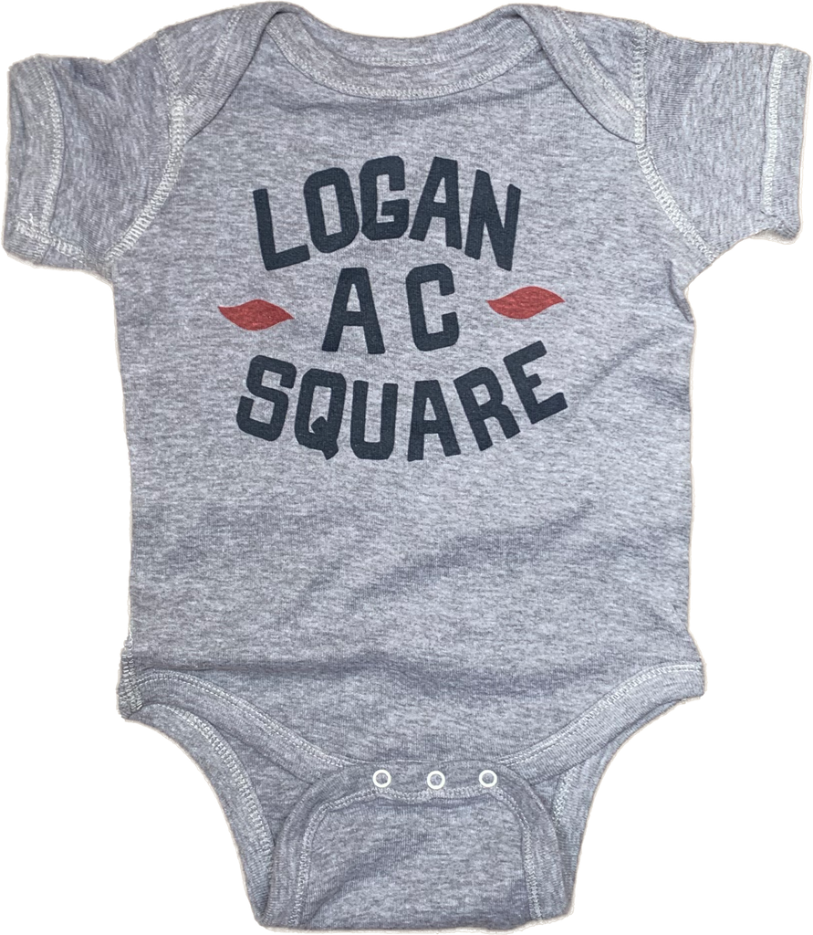 Logan Square Chicago onesie