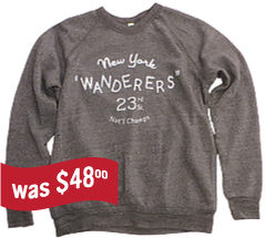 New York Wanderers SweatShirt - 1898