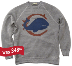 Chicago Whales Sweatshirt - heather grey