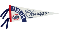 Chicago Whales Championship Pennant