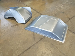 Raised bed floor tubs