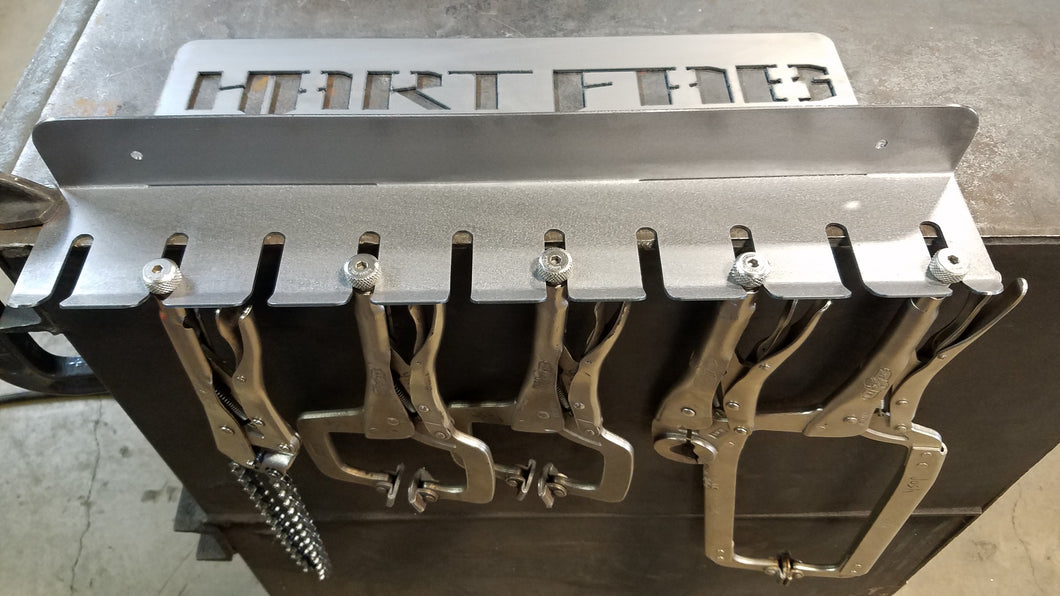 Air Tool and Vice Grip Rack