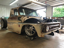 "Load image into Gallery viewer, 60-66 C-10 Inner fenders for 22"" wheel"