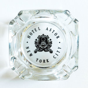 Hotel Astor NYC Ashtray