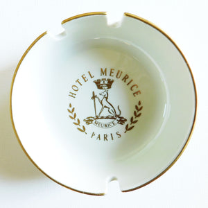 Hotel Meurice Paris Ashtray