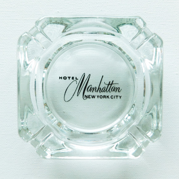 Hotel Manhattan NYC Ashtray