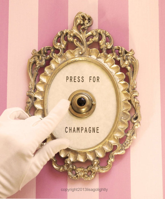 Press For Champagne Button - Silent Version