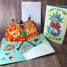 Load image into Gallery viewer, I Love You B**ch!- Love Card- Scary Terry
