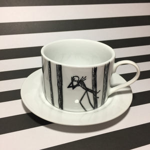 Hand Drawn Nightmare Tea Cup