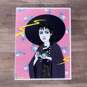 Strange and Unusual- Lidia- Art Print