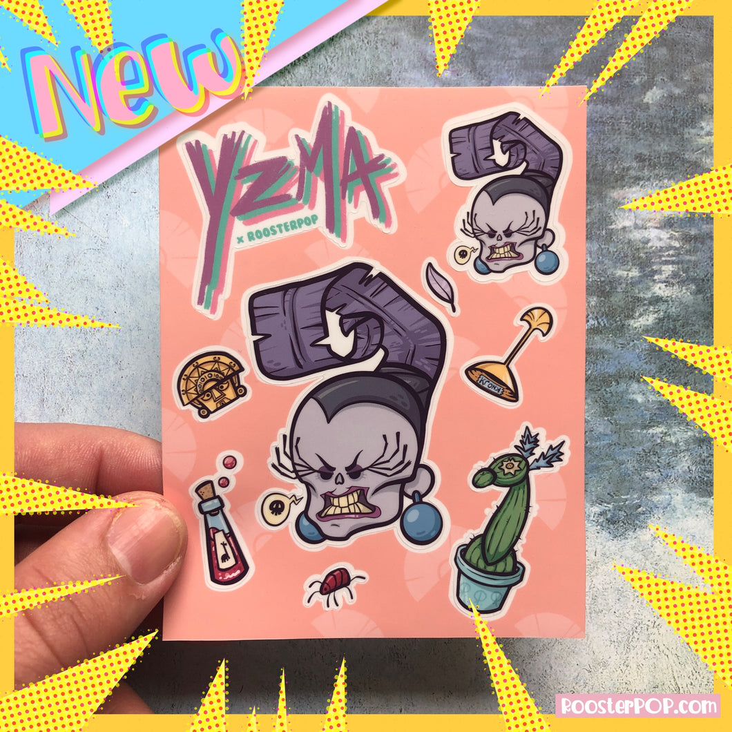 Yzma Cutie Sticker Sheet