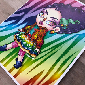 Lisa Frankenstein- Art Print