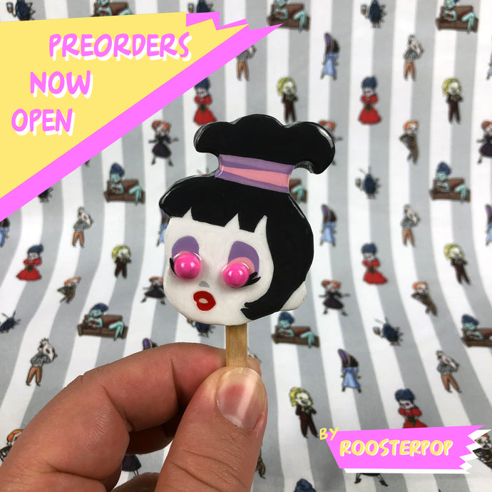 PRE-ORDER: LydiaPOP Hand Made Pin/Magnet