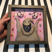 "Load image into Gallery viewer, Happy Boogie - Shadow Box- 8""x 8""- Framed"