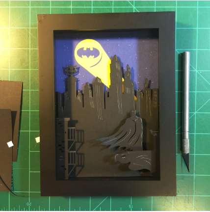 Batman Shadow Box- 5