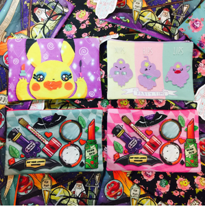 "Nips, Hips, Lips- LSP- 9""x 6"" Accessory Bag"