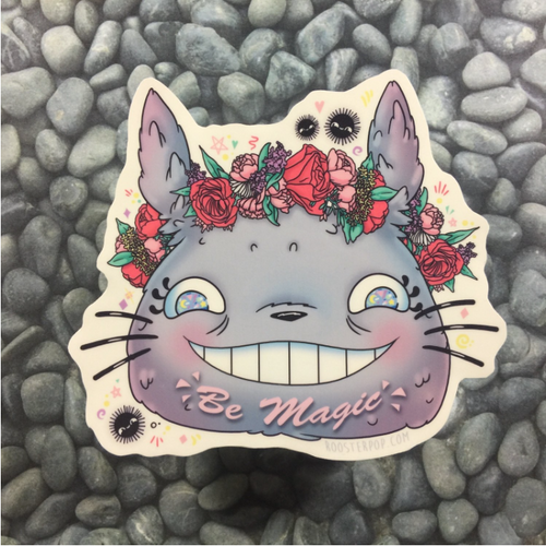 Be Magic Totoro- Big Sticker