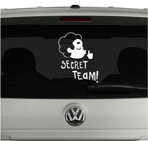 Secret Team!- Steven Universe- Vinyl Car Decal