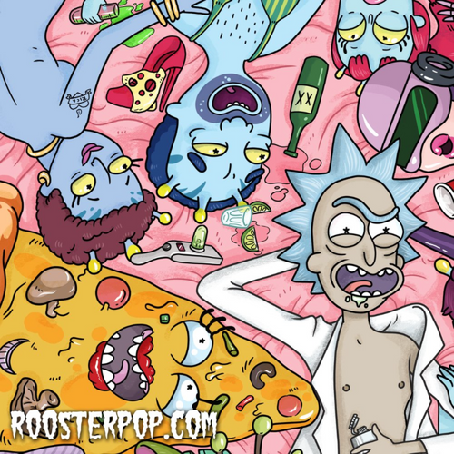 Rick and Unity- Art Print