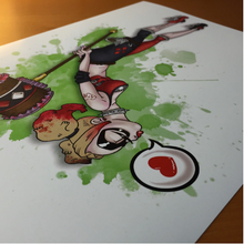 Load image into Gallery viewer, A Kiss from Harley- Art Print