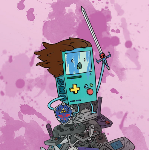 BMO the Conqueror- Art Print
