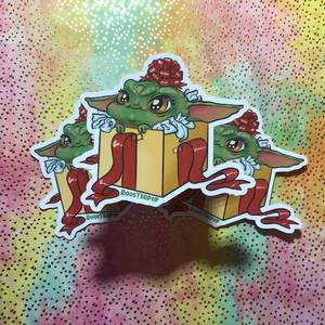 The Gift- Big Sticker