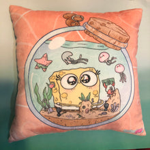 Load image into Gallery viewer, Circle of Friends, SpongeBob- Pillow
