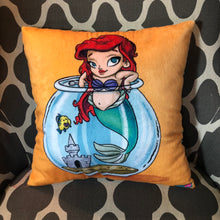 Load image into Gallery viewer, Little Ariel Cutie- Pillow