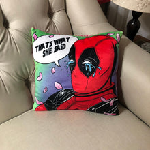 Load image into Gallery viewer, DeadPool Art- Pillow