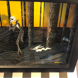 "Jack's Discovery- Shadow Box- 7""X19""- Framed"