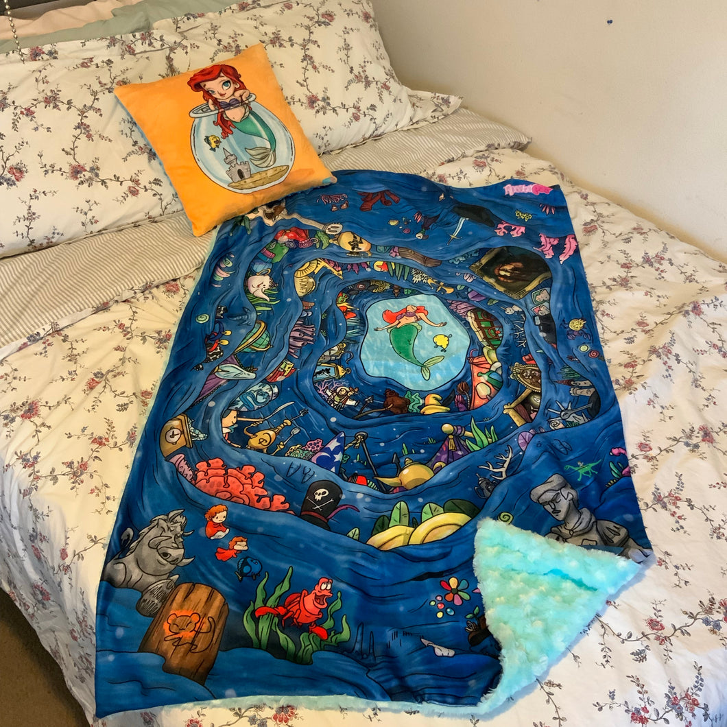 Preorder- Ariel's Treasure Blanket