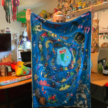 Load image into Gallery viewer, Preorder- Ariel's Treasure Blanket
