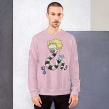 Load image into Gallery viewer, Beetle Buddies Sweatshirt Pink/Gray