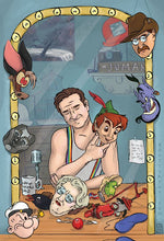 Load image into Gallery viewer, Funny Guy, A Tribute to Robin Williams- Art Print