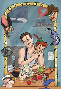 Funny Guy, A Tribute to Robin Williams- Art Print