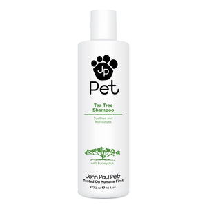 Natural moisturising dog shampoo