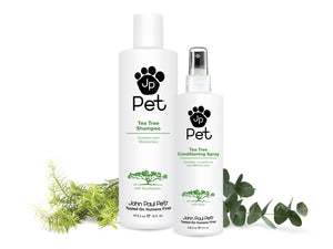 Natural moisturising dog shampoo and conditioner