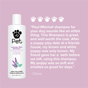 Dog shampoo deep conditioning