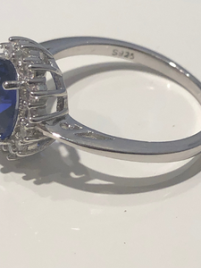 Kate Middleton Natural Brazil Sapphire Engagement Ring All Precious Stone Metal