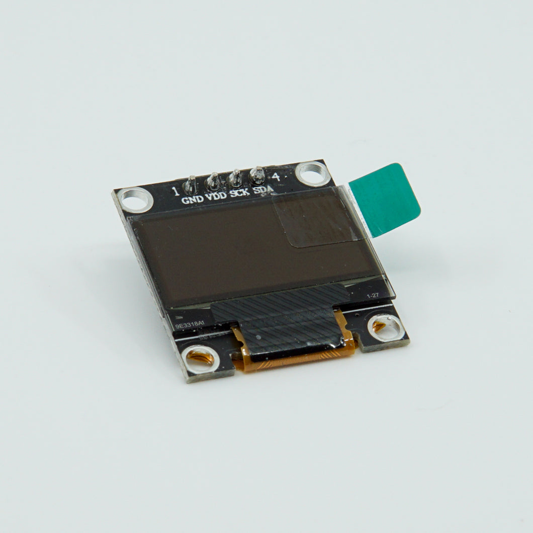 128X64 OLED Screen (Black PCB)