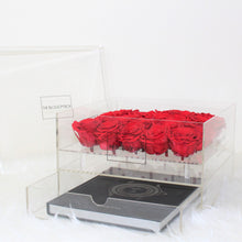 Load image into Gallery viewer, Crystal Collection | Twenty-Five Rose Box