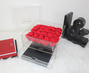 Crystal Collection | Twenty-Five Rose Box